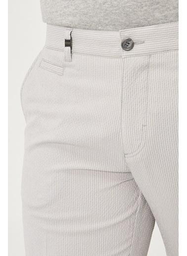 Beymen Business Slim Fit Gofre Pantolon 4B0119200024 Taş